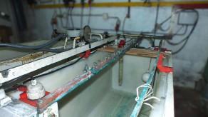 Tanque de banho químico - produção de moldes