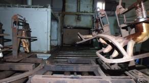 Unidade de rotomoldagem - moldes mãos manequins